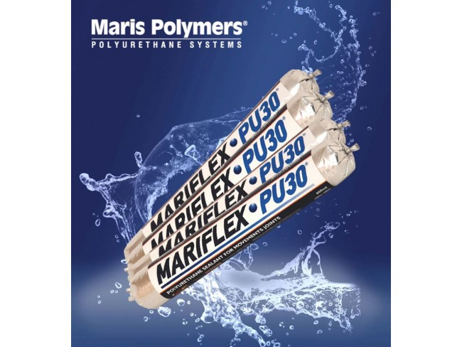 MARIS POLYMERS - MARIFLEX PU 30 - 600ml -  ΓΚΡΙ - ΛΕΥΚΟ - Ελαστική θιξοτροπική μαστίχη πολυουρεθανικής βάσης ενός συστατικού.